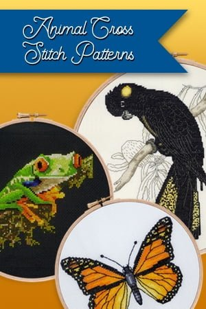 Animals cross stitch patterns