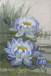 Blue Cloud Water Lily source