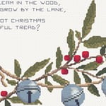 Christmas Bells cross stitch pattern