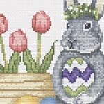 Easter Bunny 1 cross stitch pattern
