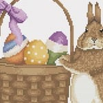 Easter Bunny 2 cross stitch pattern