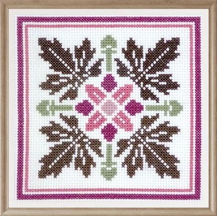 Floral Pattern 1 cross stitch pattern