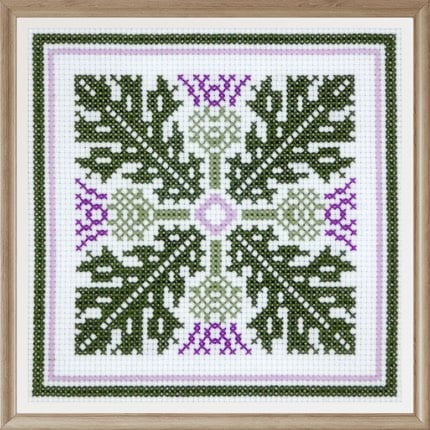 Floral Pattern 2 cross stitch pattern