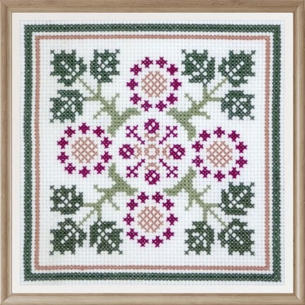 Floral Pattern 5 cross stitch pattern