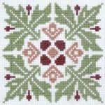 Floral Pattern 6 cross stitch pattern