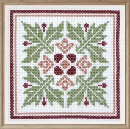 Floral Pattern 6 cross stitch pattern