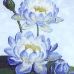 Water Lily 1 cross stitch pattern