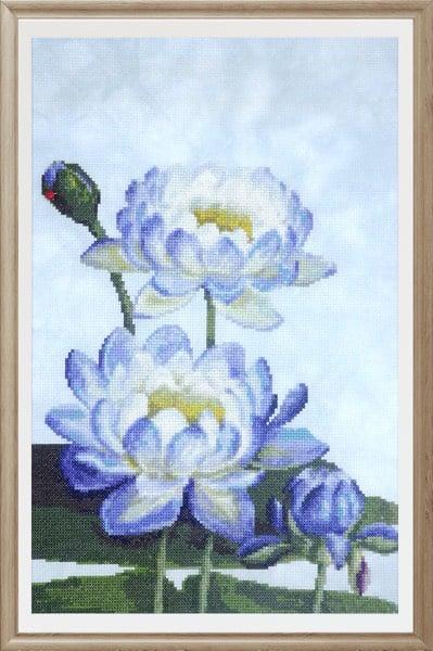 Water Lily 1 cross stitch pattern