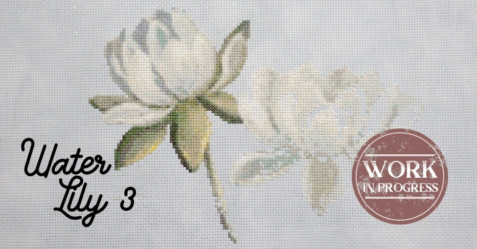 Water Lily 3 WIP