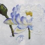 Water Lily 1 work in progress 3