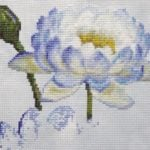 Water Lily 1 work in progress 5