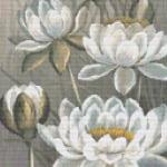White Water Lily cross stitch pattern