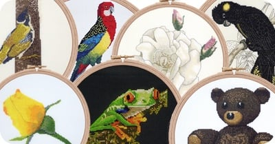Cross stitch patterns range