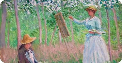 Historical artist, Claude Monet
